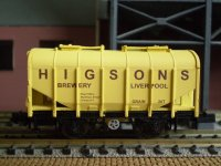 Higsons grain wagon