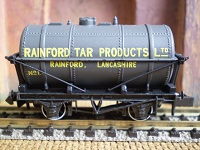 Limited edition tank wagon